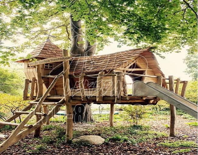 户外丛林树屋,儿童拓展训练游乐设备, 大型儿童游乐设施厂家