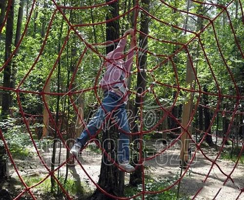 丛林攀爬,户外拓展树上大型丛林穿越探险儿童游乐设备