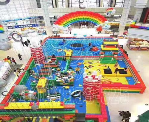 淘气堡儿童乐园室内设备大型商场百万球池幼儿园游乐场滑滑梯设施