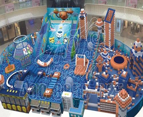 淘气堡儿童乐园游乐设备  百万海洋球池厂家定做