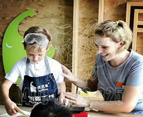 儿童手工坊投资多少_专业打造儿童手工DIY乐园创客工坊06