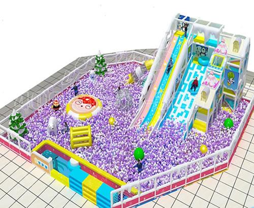厂家供应英伦风格室内外大游乐设施设备 淘气堡儿童百万球池