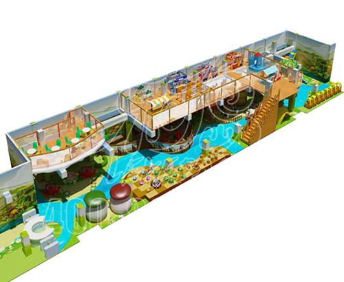 商场大小型乐园游乐场定制设施室内河南厂家儿童游乐设备淘气堡