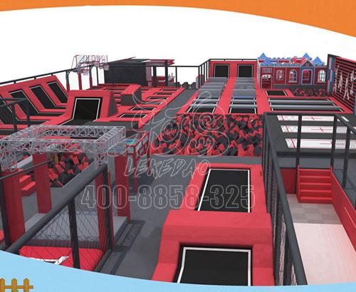 大型蹦床公园网红成人儿童乐园室内跳跳床游乐场设备厂家
