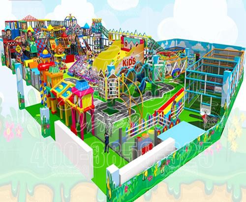 淘气堡儿童乐园室内亲子餐厅游乐场设备设施厂家