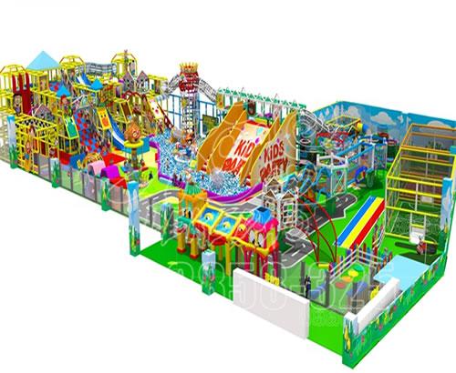 商场大型室内综合儿童乐园 新款淘气堡游乐场 大型游艺设备厂家
