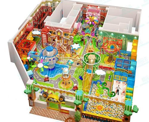 小型淘气堡儿童乐园 淘气堡儿童游乐设备厂家室内游乐场设施