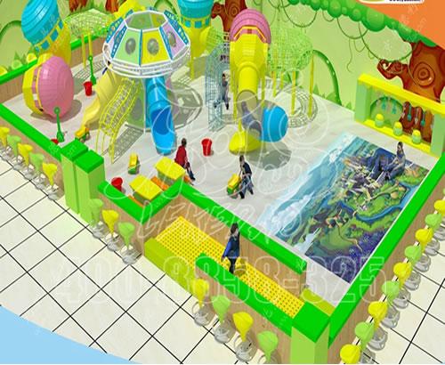 淘气堡海洋球儿童乐园室内小大型游乐场设备