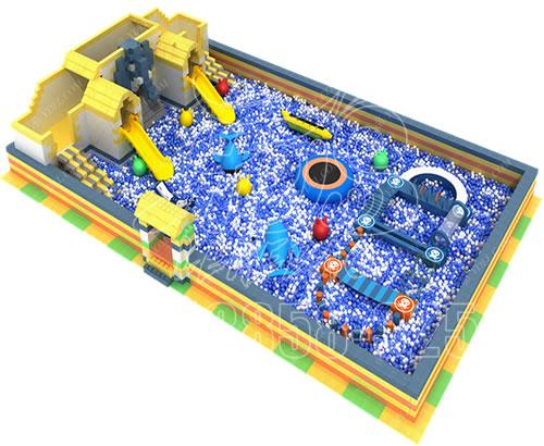 厂家直销 新款淘气堡主题乐园 儿童游乐园 室内百万球池游乐设备可定制