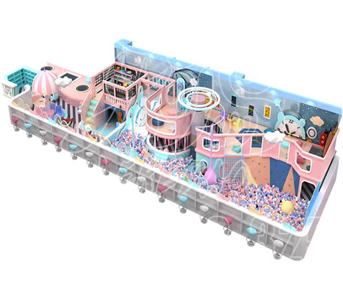大型商场淘气堡儿童乐园,游乐场室内设备亲子娱乐设施厂家定制