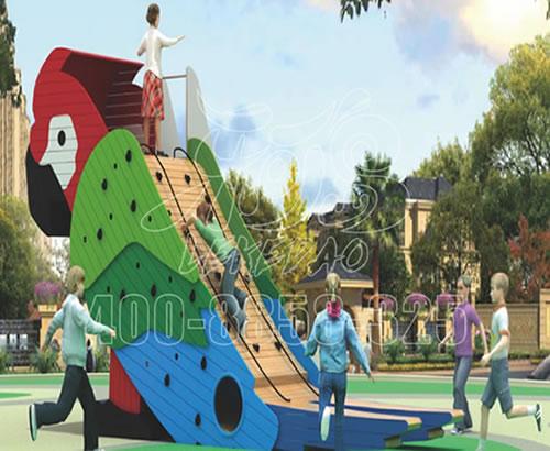 户外休闲新型游乐设备绳网乐园彩虹网厂家直销定制设计炫彩转椅LKDWDX-06