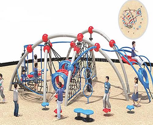 户外爬网大型游乐设备定制多功能攀爬拓展组合游乐设备设计定制