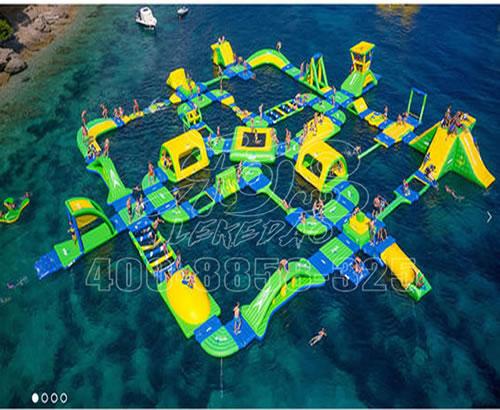 新款充气水上乐园,智勇闯关系列, 支架游泳池水池等水上游艺设备