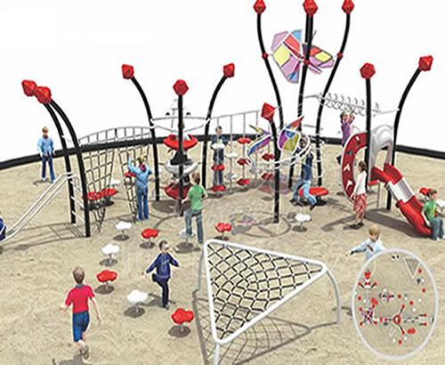 厂家直销景区公园幼儿园小区社区户外儿童游乐设备,攀爬网定制