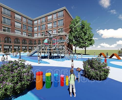 幼儿园户外大型树屋 儿童滑梯游乐设施 景区树屋组合滑梯厂家定制XXCC-11